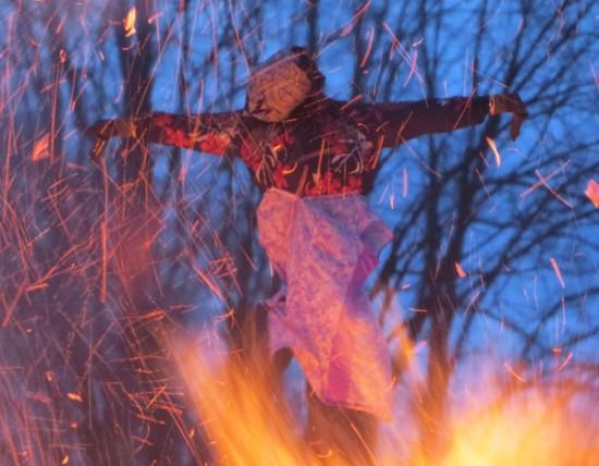 Die Hexe brennt