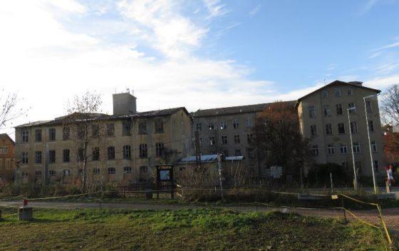 Die leider sehr marode zum Abriss bestimmte Strumpffabrik Bruno Neukirchner