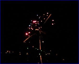 Silvester Feuerwerk 2016 auf 2017
