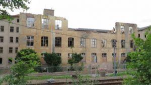 Abriss Buntsockenfabrik